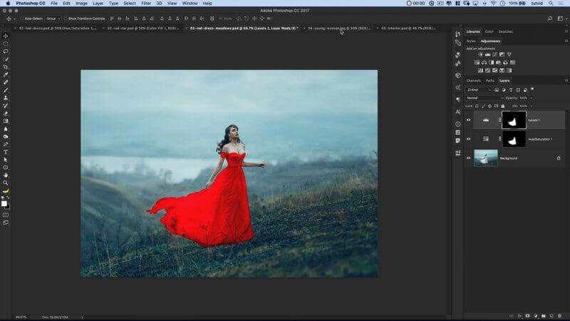 5 Cách thay đổi màu sắc đối tượng trong Photoshop