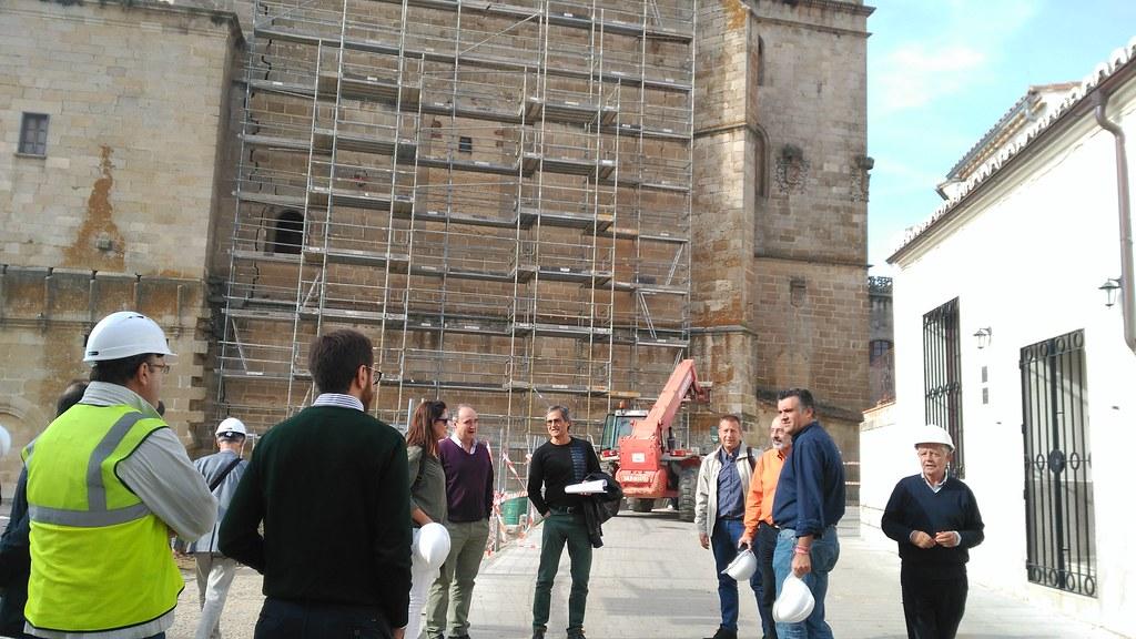 Este viernes se celebrará un acto de presentación de las obras de consolidación estructural de la Catedral de Coria