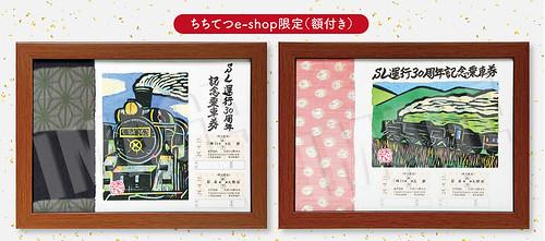 【9/17(日)発売】SL運行30周年記念乗車券~秩父路を彩る~☆ちちてつe-shop限定