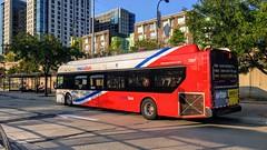 WMATA Metrobus 2012 New Flyer Xcelsior XDE40 #7227