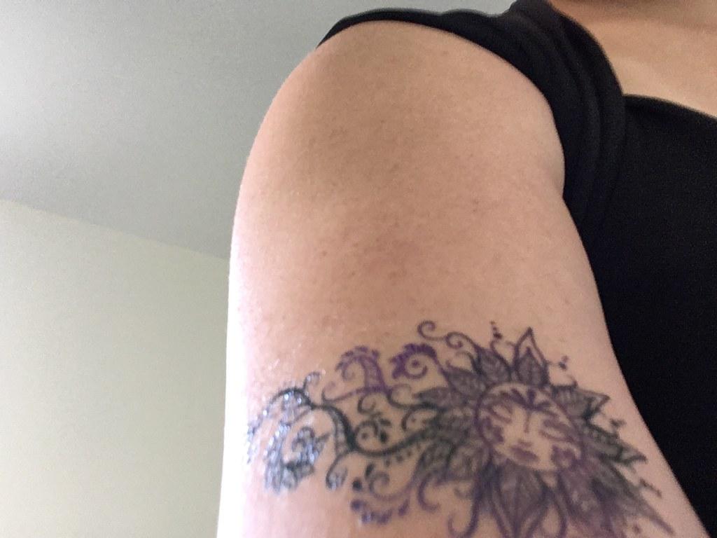 Sun on my arm