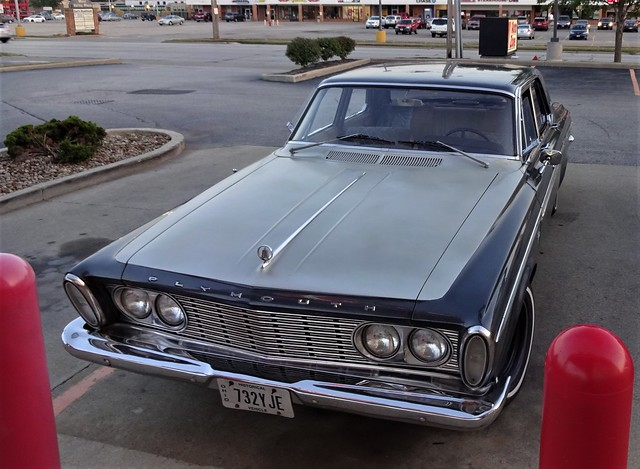 I changed the wipers on this 1963 plymouth fury