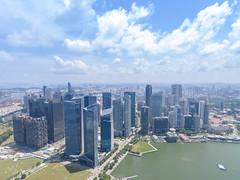 Aerial of Singapore