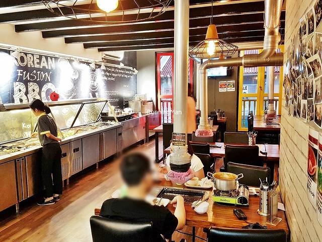Korean Fusion BBQ Interior