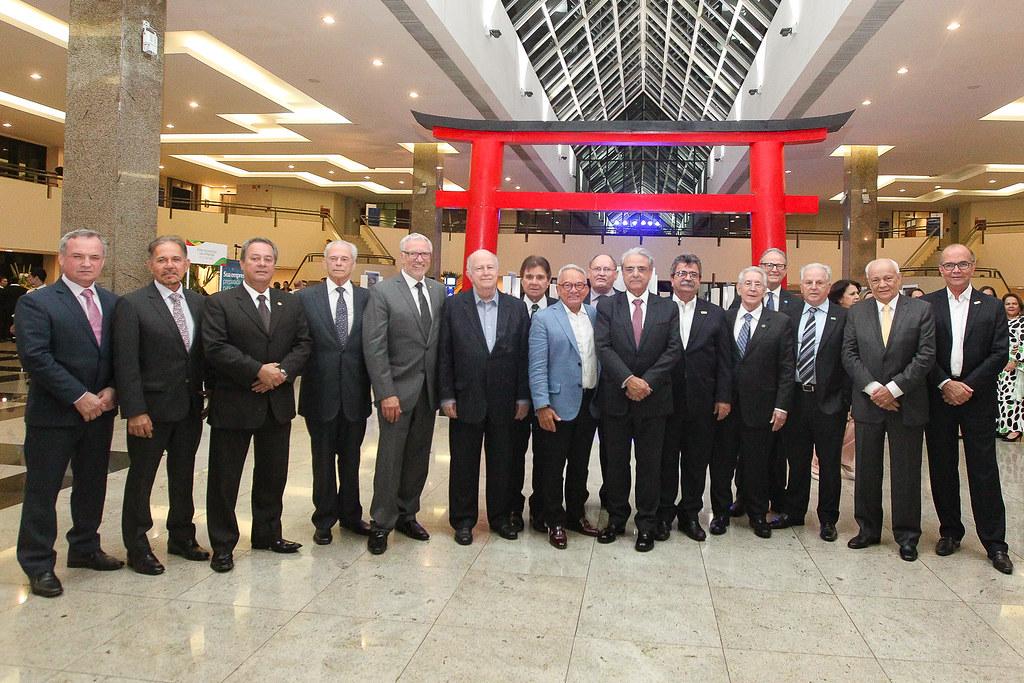 Brasil-Japão  Recepção a convite FIEP