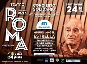 Teatro Roma - Creación Orquesta infantil y juvenil