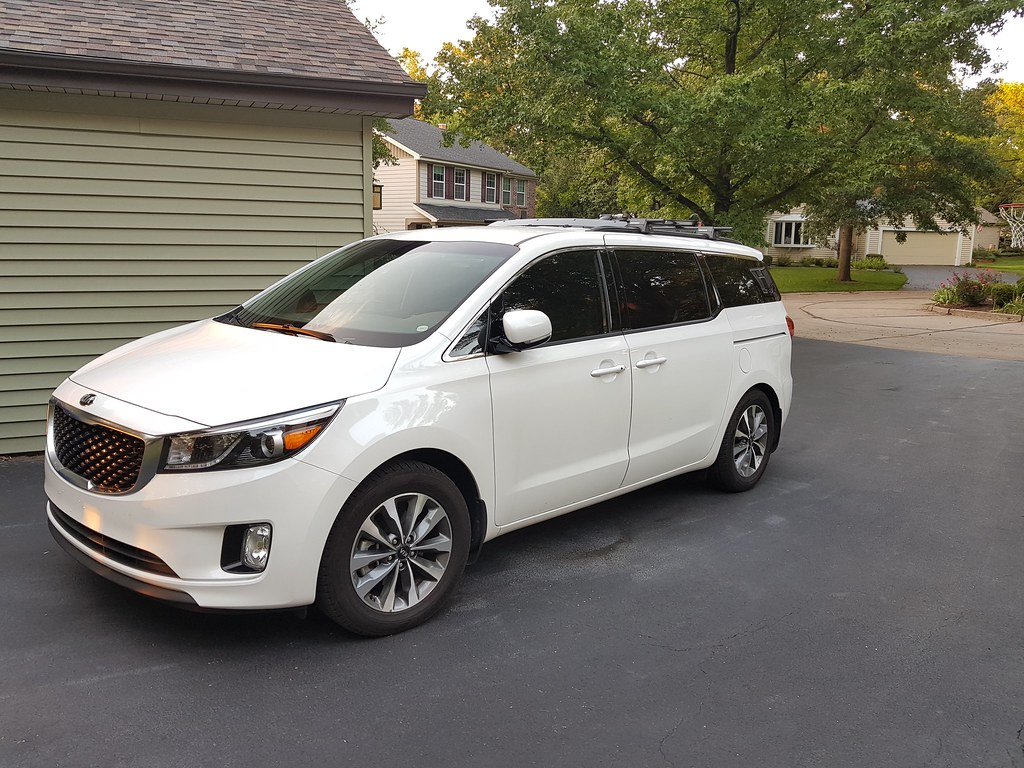Painted Roof Rails With Roof Rack Kia Forum