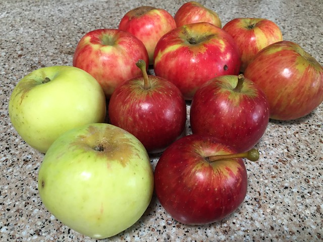 Today's apples