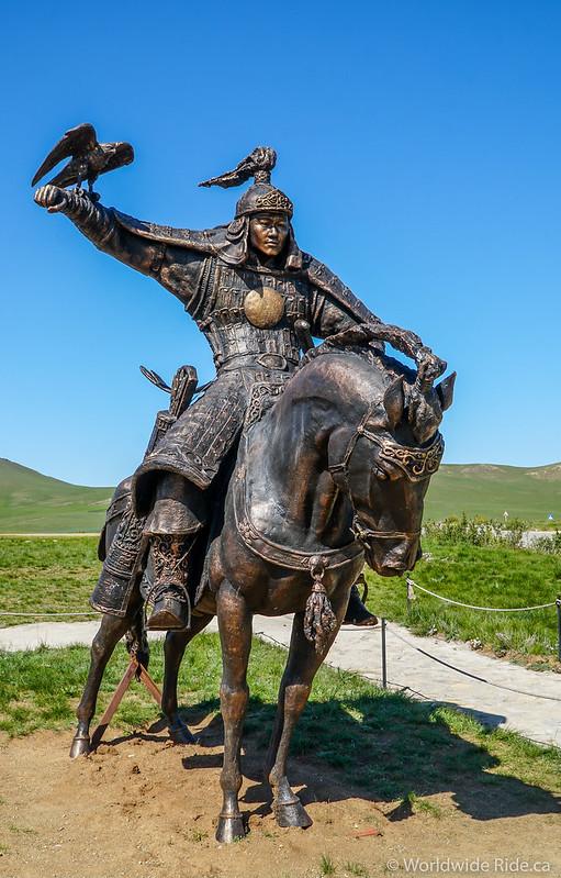 Mongolia Chiggis Khan Monument-7