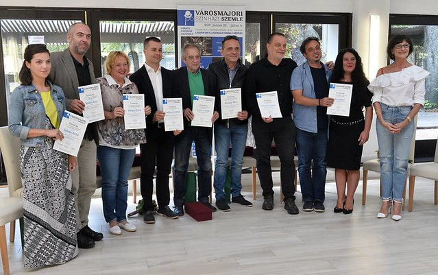 A Városmajori Színházi Szemle díjátadója
