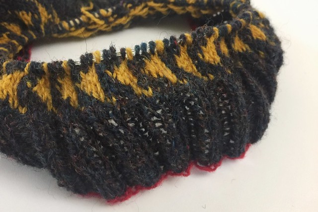 Shetland Wool Week Hat WIP