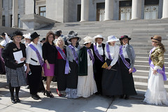 2-7-17 100 Year Anniversary of Womens' Suffrage