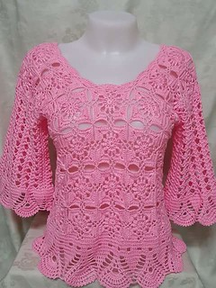 💁😍😍 this model, I am completely in love  that crochet blouse more beautiful and elegant see step by step