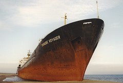 MEDITERRANEAN SEA SHIP RUN AGROUND