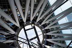 Ceiling of Sendai Mediatheque (せんだいメディアテーク)