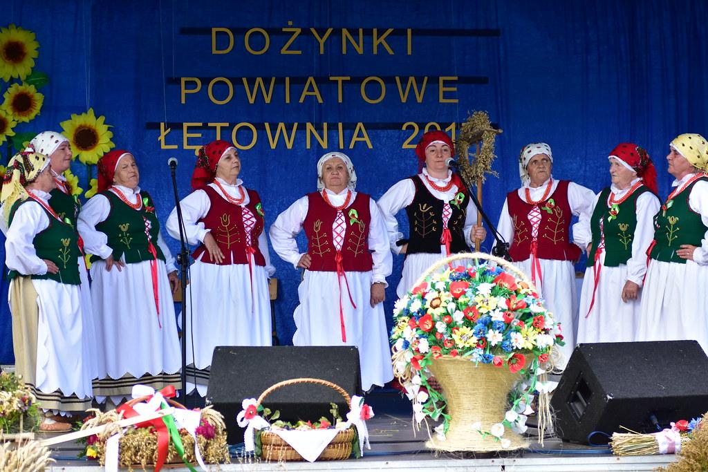 Dożynki Powiatowe w Łętowni 2017.