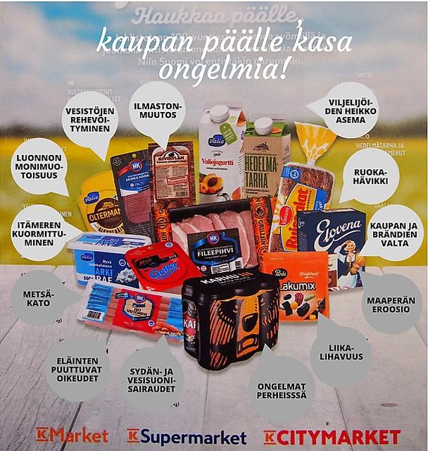Ruoan tuotannon ja kulutuksen vaikutuksia. Kuva: Pinja Sipari, Global Meal -hanke.