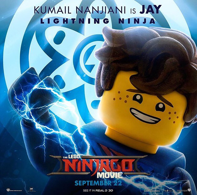 Plakaty postaci z The LEGO Ninjago Movie 4