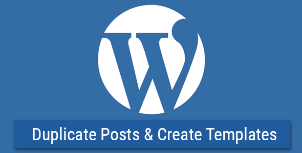 WP Template & Duplicate Posts v1.3.0
