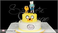 Bolo Decorado – Hora de Aventura / Adventure Time