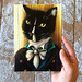 Mr Darcy Cat Original Painting