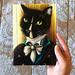 Mr Darcy Cat Original Painting