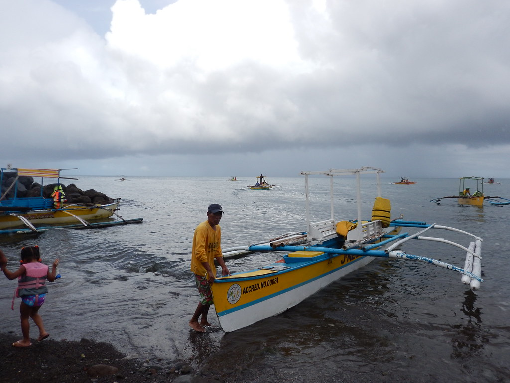 Banka Boat to Camiguin Island