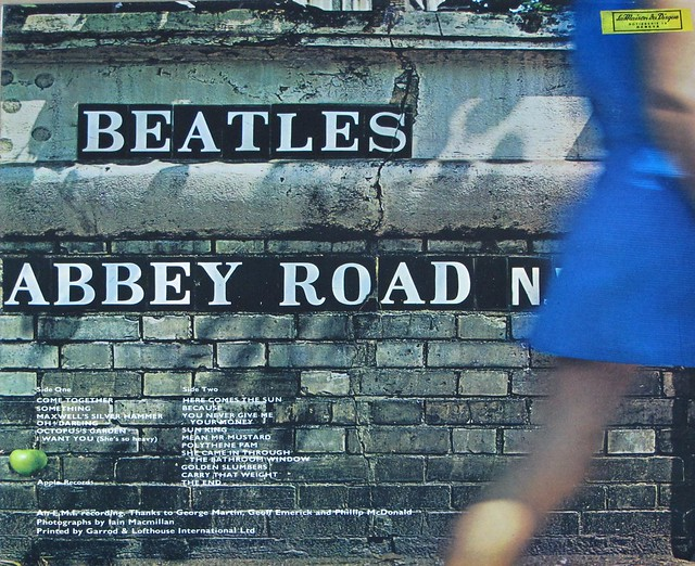 "BEATLES - Abbey Road Original UK misaligned Apple PC 7088 12"" VINYL"
