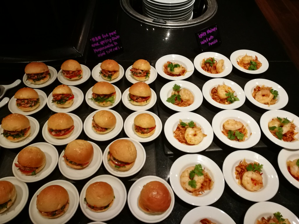 Canapes and sliders