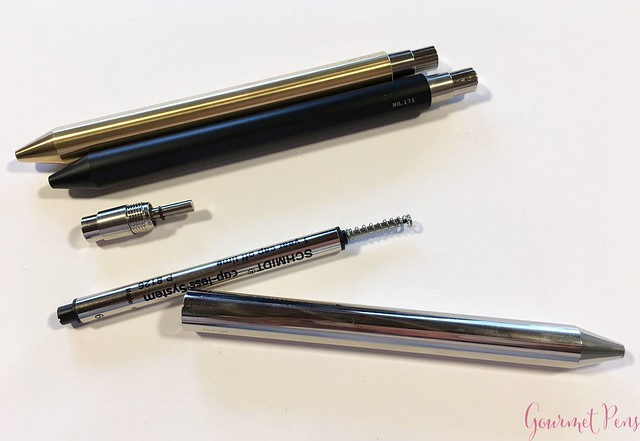 Review @InventeryCo Mechanical Pens - Brass, Chrome, Onyx 12