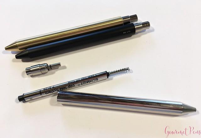 Review @InventeryCo Mechanical Pens - Brass, Chrome, Onyx 12