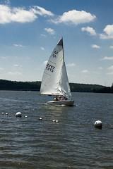 Sailing at Moraine