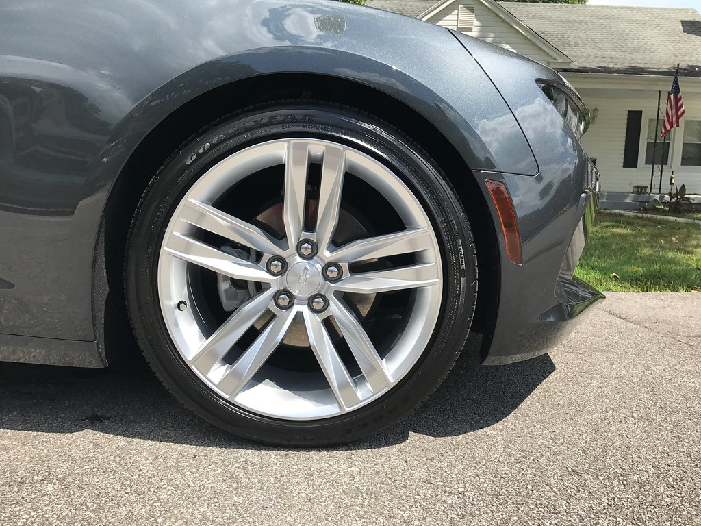 My Camaro washed and spray waxed