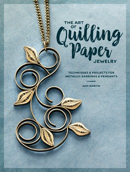 The Art of Quilling Paper Jewelry - sidebar