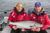 29.5-pound Chinook salmon, caught off Cohoe Point