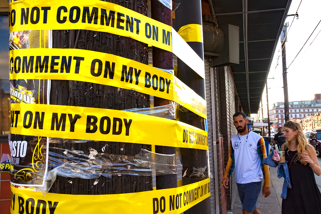 DO NOT COMMENT ON MY BODY--Italian Market