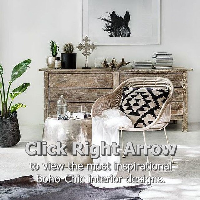 Bohemian Boho Style Home Decor