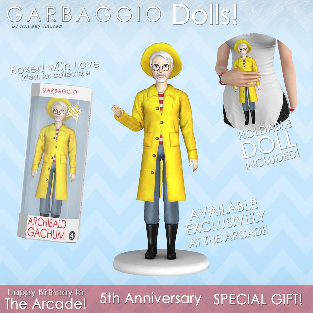 Garbaggio Dolls Archie Gift - SecondLifeHub.com