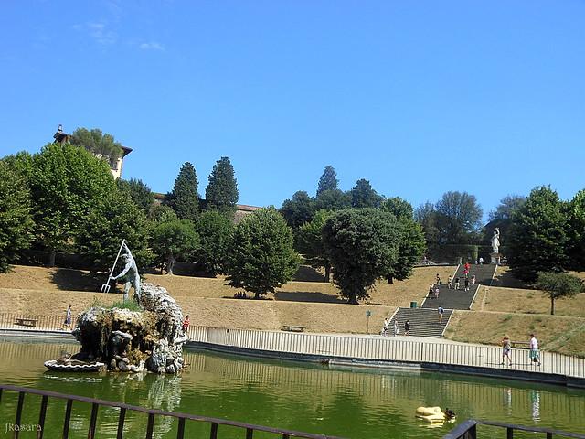 Fontana di Nettuno ai Boboli