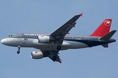 N344NB Northwest Airlines A319-114 (JFK)