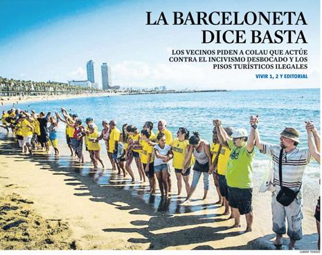 17h13 LV La Barceloneta dice basta