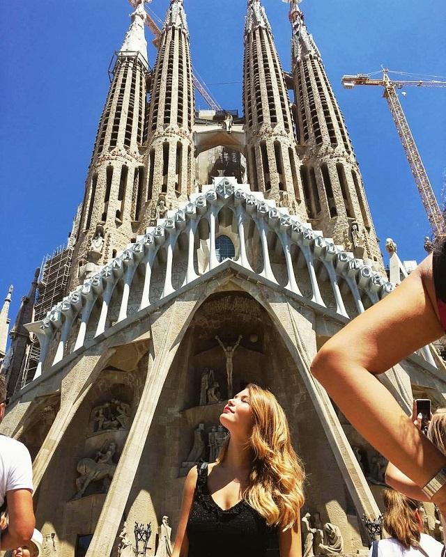 Noicattaro. Cinzia Ressa a Barcellona intero