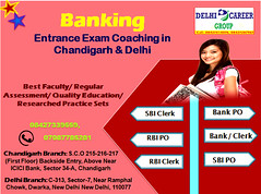 Bank Po and Clerk Entrance Exam Coaching Centre In Chandigarh