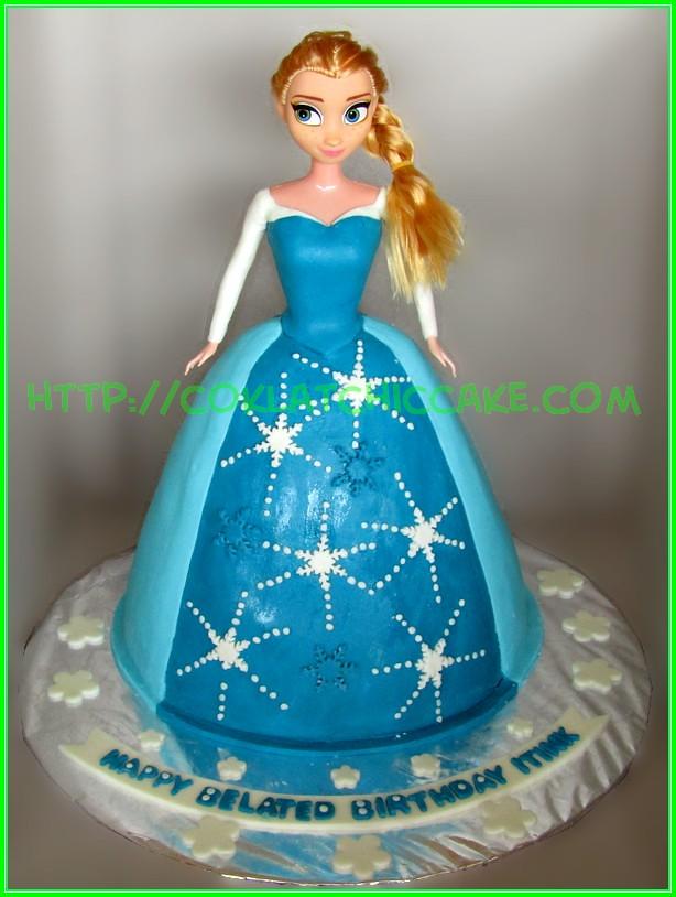 Cake princes elsa