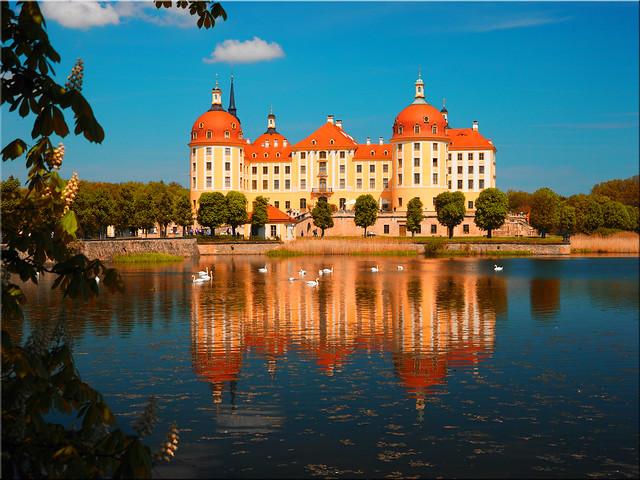 Castle Moritzburg near Dresden