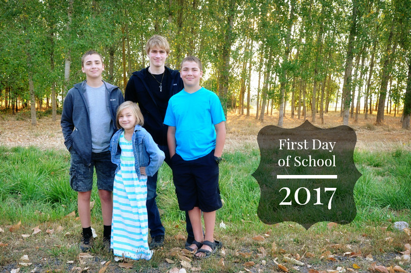 First Day of School 2017 @ Mt. Hope Chronicles