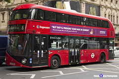 Wrightbus NRM NBFL - LTZ 1252 - LT252 - Tottenham Court Road 8 - Stagecoach - London 2017 - Steven Gray - IMG_1130