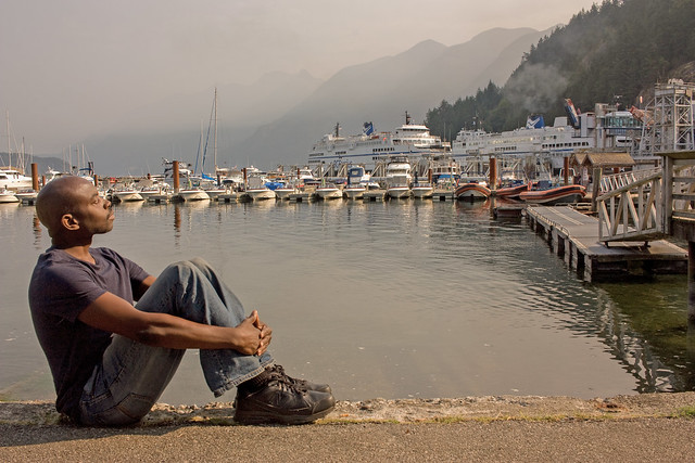 Week 130 of chemo complete: Ferry watching at Horseshoe Bay