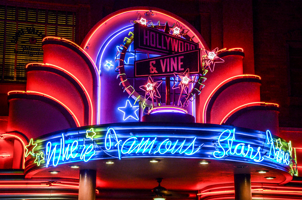 Hollywood & Vine neon DHS
