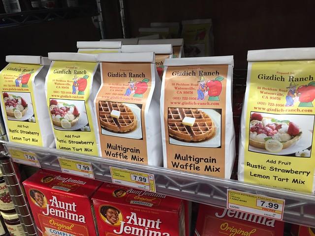 Gizdich Ranch baking mixes